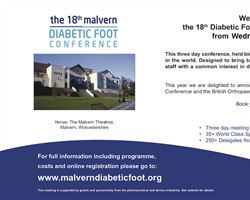 Malvern 18th Diabetic Foot Conference